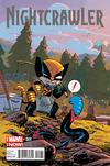 Cover Thumbnail for Nightcrawler (2014 series) #1 [Chris Samnee Marvel Animals Variant]