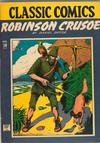 Cover for Classic Comics (Gilberton, 1941 series) #10 - Robinson Crusoe [HRN 14]