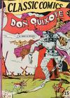 Cover for Classic Comics (Gilberton, 1941 series) #11 - Don Quixote [HRN 21]