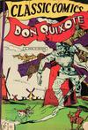 Cover for Classic Comics (Gilberton, 1941 series) #11 - Don Quixote [HRN 28]