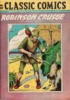 Cover for Classic Comics (Gilberton, 1941 series) #10 - Robinson Crusoe [HRN 28]