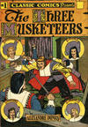 Cover Thumbnail for Classic Comics (1941 series) #1 - The Three Musketeers [HRN 28]