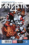 Cover Thumbnail for Fantastic Four (2014 series) #2 [2nd Printing]