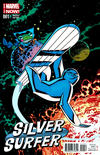 Cover Thumbnail for Silver Surfer (2014 series) #1 [Chris Samnee variant]
