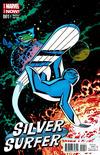 Cover for Silver Surfer (Marvel, 2014 series) #1 [Chris Samnee variant]