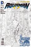 Cover for Aquaman (DC, 2011 series) #24 [Paul Pelletier Sketch Cover]