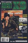 Cover for Agent X9 (Hjemmet / Egmont, 1998 series) #8/2000
