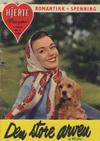 Cover for Hjerterevyen (Serieforlaget / Se-Bladene / Stabenfeldt, 1960 series) #6/1960