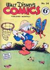 Cover for Walt Disney's Comics (W. G. Publications; Wogan Publications, 1946 series) #34