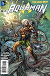 Cover for Aquaman (DC, 2011 series) #28 [Steampunk Cover]