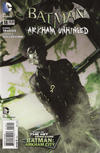 Cover for Batman: Arkham Unhinged (DC, 2012 series) #18 [DC Collectibles Photo Variant Cover]