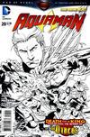 Cover for Aquaman (DC, 2011 series) #20 [Paul Pelletier Black & White Variant]