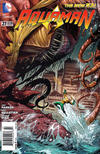 Cover for Aquaman (DC, 2011 series) #27 [Newsstand]