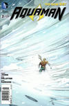 Cover for Aquaman (DC, 2011 series) #21 [Newsstand Edition]
