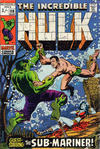 Cover for The Incredible Hulk (Marvel, 1968 series) #118 [British Price Variant]