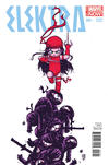 Cover Thumbnail for Elektra (2014 series) #1 [Skottie Young Marvel Babies Variant]