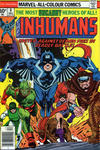 Cover for The Inhumans (Marvel, 1975 series) #8 [British Price Variant]