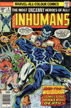 Cover for The Inhumans (Marvel, 1975 series) #9 [British Price Variant]