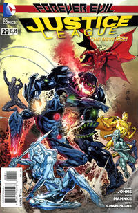 Cover Thumbnail for Justice League (DC, 2011 series) #29 [Ivan Reis Cover]