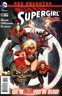 Cover Thumbnail for Supergirl (DC, 2011 series) #30 [Direct Sales]