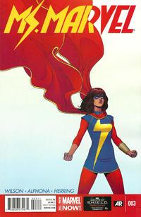 Cover Thumbnail for Ms. Marvel (Marvel, 2014 series) #3