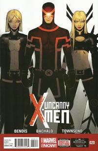 Cover Thumbnail for Uncanny X-Men (Marvel, 2013 series) #20