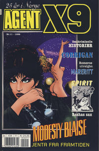 Cover Thumbnail for Agent X9 (Hjemmet / Egmont, 1998 series) #11/1999