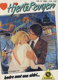 Cover Thumbnail for Hjerterevyen (Serieforlaget / Se-Bladene / Stabenfeldt, 1960 series) #31/1989