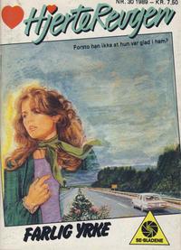 Cover Thumbnail for Hjerterevyen (Serieforlaget / Se-Bladene / Stabenfeldt, 1960 series) #30/1989