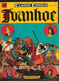 Cover Thumbnail for Classic Comics (Gilberton, 1941 series) #2 - Ivanhoe [HRN 15]