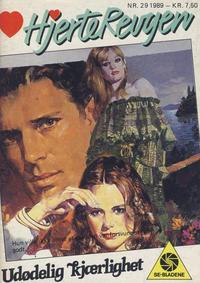 Cover Thumbnail for Hjerterevyen (Serieforlaget / Se-Bladene / Stabenfeldt, 1960 series) #29/1989