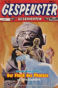 Cover Thumbnail for Gespenster Geschichten (Bastei Verlag, 1974 series) #713