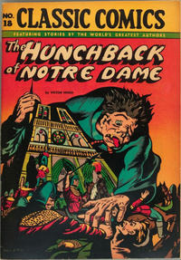 Cover Thumbnail for Classic Comics (Gilberton, 1941 series) #18 - The Hunchback of Notre Dame [HRN 20]