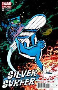 Cover Thumbnail for Silver Surfer (Marvel, 2014 series) #1 [Chris Samnee variant]