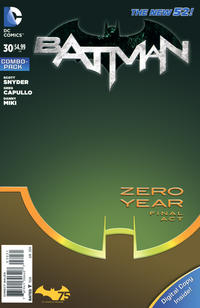 Cover Thumbnail for Batman (DC, 2011 series) #30 [Combo-Pack]
