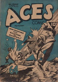 Cover Thumbnail for Three Aces Comics (Anglo-American Publishing Company Limited, 1941 series) #v2#1