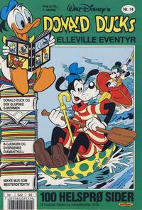 Cover Thumbnail for Donald Ducks Elleville Eventyr (Hjemmet / Egmont, 1986 series) #14 [Reutsendelse]