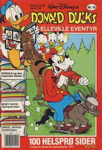 Cover Thumbnail for Donald Ducks Elleville Eventyr (Hjemmet / Egmont, 1986 series) #16