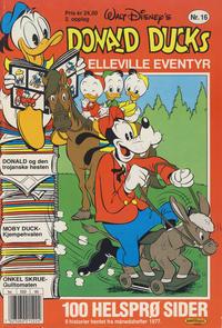 Cover Thumbnail for Donald Ducks Elleville Eventyr (Hjemmet / Egmont, 1986 series) #16 [Reutsendelse]
