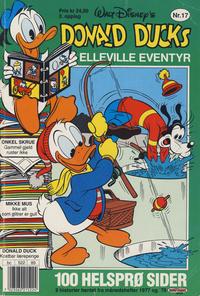 Cover Thumbnail for Donald Ducks Elleville Eventyr (Hjemmet / Egmont, 1986 series) #17 [Reutsendelse]