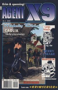 Cover Thumbnail for Agent X9 (Hjemmet / Egmont, 1998 series) #4/2000