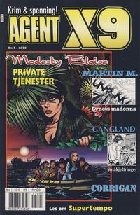 Cover Thumbnail for Agent X9 (Hjemmet / Egmont, 1998 series) #5/2000