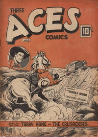 Cover Thumbnail for Three Aces Comics (Anglo-American Publishing Company Limited, 1941 series) #v3#5