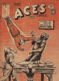 Cover Thumbnail for Three Aces Comics (Anglo-American Publishing Company Limited, 1941 series) #v3#4