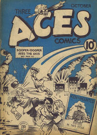 Cover Thumbnail for Three Aces Comics (Anglo-American Publishing Company Limited, 1941 series) #v1#9