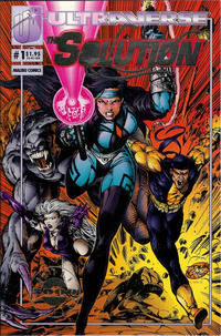 Cover Thumbnail for The Solution (Malibu, 1993 series) #1 [Ultra Limited Edition]