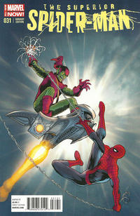 Cover Thumbnail for Superior Spider-Man (Marvel, 2013 series) #31 [Kevin Maguire Variant]