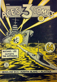 Cover Thumbnail for Three Aces Comics (Anglo-American Publishing Company Limited, 1941 series) #v1#4