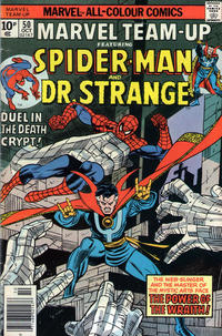 Cover Thumbnail for Marvel Team-Up (Marvel, 1972 series) #50 [British]