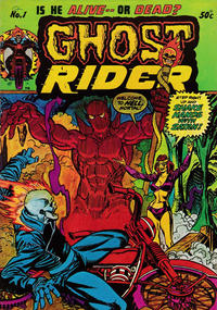 Cover Thumbnail for Ghost Rider (Yaffa / Page, 1977 series) #1
